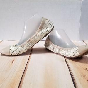 Dexflex Comfort Vegan Leather Ballet Flats